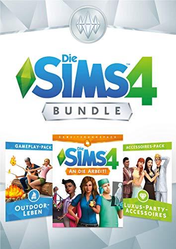 Die Sims 4 Bundle - An die Arbeit, Outdoor-Leben, Luxury Party Accesoires DLC | PC Download - Origin Code
