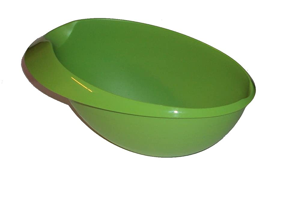 Tupperware 1.5L Saucy Server Large Prep Essentials Gravy Sauce Boat Bowl Green