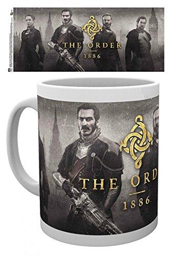 1art1 The Order 1886, Key Art Tazza da caffè Mug (9x8 cm) E 1 Sticker Sorpresa