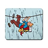 The Adventures of Tintin Custom Cool Beautiful Rectangle Mouse Pad Fitting Your Computer Very Well mmn-67