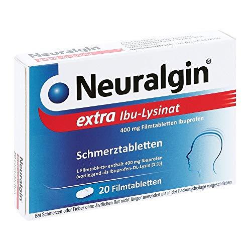 Neuralgin extra Ibu-Lysinat 684 mg Filmtabletten, 20 St. Tabletten