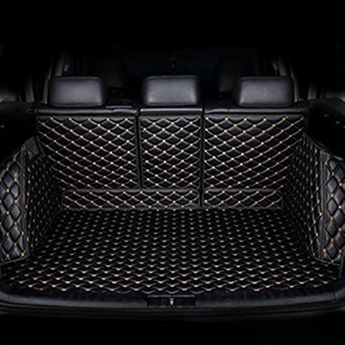Alfombrilla de maletero de coche personalizada para Mercedes Benz todos los modelos C ML GLA GLE GL CLA R A B GLS GLC clase GLC accesorios estilo (nombre del color: negro beige)