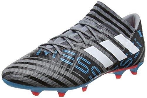 adidas Herren Nemeziz Messi 17.3 Football Boots Hallenschuhe, Mehrfarbig (Multicolour Black), 44 2/3 EU