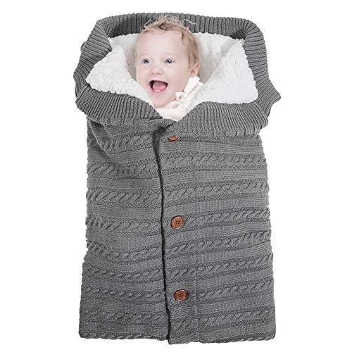 Kinderwagen Schlafsack Winter,Unisex Baby Schlafsack,Schlafsack Kinderwagen Baby,für 0-12 Monate