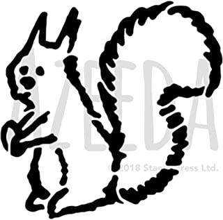 A5 'Squirrel' Wall Stencil / Template (WS00042122)
