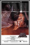 POSTER STOP ONLINE Star Wars Episode IV - A New Hope - Framed Movie Poster/Print (Style A) (Size 27' x 40')