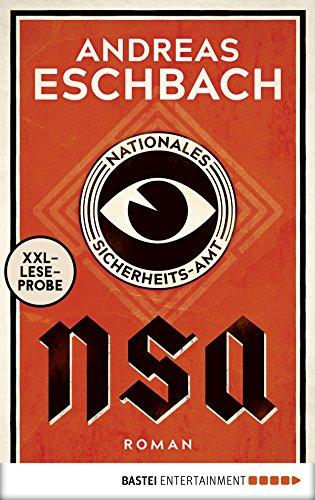 Buchseite und Rezensionen zu 'XXL-Leseprobe: NSA - Nationales Sicherheits-Amt' von Eschbach, Andreas