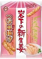 ひざつき製菓 岩下の新生姜つな旨揚げ 40g ×12袋