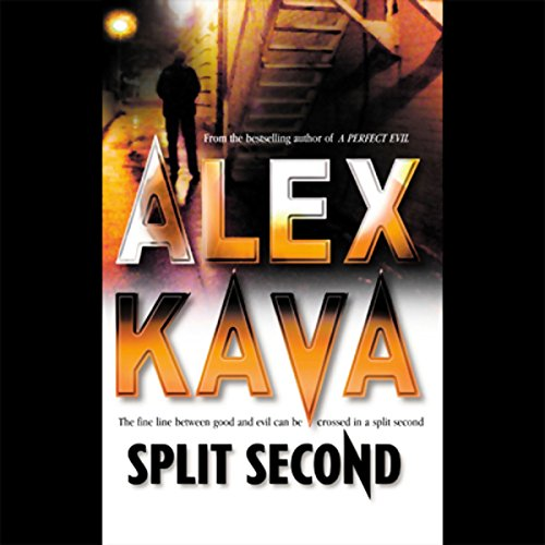 Split Second audiobook cover art