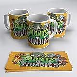 TusPersonalizables.com Tazza Plants vs Zombies (arancione)