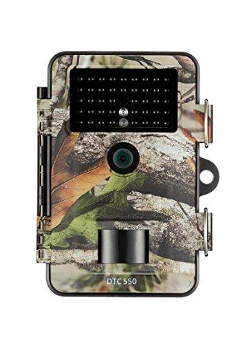 MINOX DTC 550 Wild- und Überwachungskamera Camouflage – Wetterbeständige 12MP Trail Camera - tagsüber mit Full-HD Videoaufnahmen bis 3 Min. Länge – Inkl. Display-Bildwiedergabe & Zeitschaltfunktion