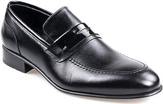 Tek Yıldız 1961 Erkek Hakiki Deri Siyah Klasik Ayakkabı