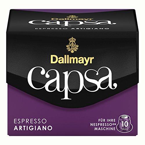 Dallmayr Kaffeekapseln Capsa, Kapseln, Espresso Artigiano, Inhalt 56 g