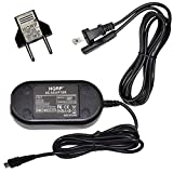 HQRP AC Adapter Compatible with Canon CA-110 CA110 VIXIA HF-R70 HF-R72 HF-R700 HF-R30 HF-R32 HF-R300 HF-R62 HF-R60 HF-R600 LEGRIA HF-R26 HF-R27 HF-R28 Charger Power Supply Cord CA-11O