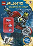 Lego Atlantis: The Quest for the Lost City Book with Lego Figurine