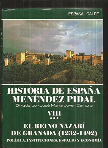Historia de España 8.III (Historia de España Menéndez Pidal)
