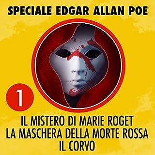 Il mistero di Marie Roget / La maschera della morte rossa / Il corvo copertina