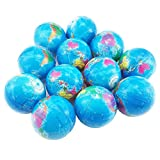 Oruuum 12 Globe Squeeze Stress Balls Earth Ball - Squeeze Relief Novelty Toys