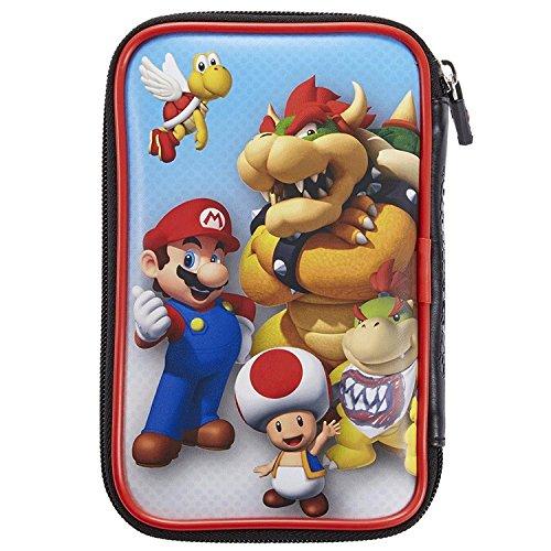 Tasche/Hülle | 4 Motive zur Auswahl | Kompatibel mit Offiziellen Nintendo New 3DS und 2DS XL / 3DS XL; Motiv: Mario und Browser