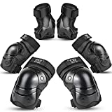 Best Elbow And Knee Pads - TXJ Sports Kids Protective Gear Set Knee Pads Review