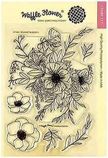 Waffle Flower Clear Stamp Set - Bouquet Builder 5