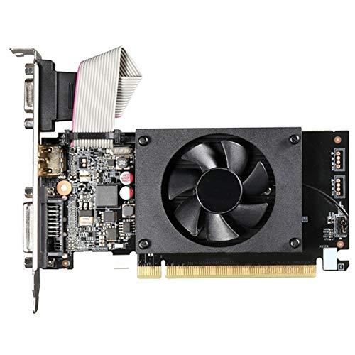に合う Gigabyte GT 710 1GBグラフィックスカードGPUフィットNVIDIA GeForce GT710 1GBビデオカードコンピュータマップ に合う HDMI PCI-E ITX Matx ATX HTPC Vag