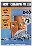 Photo Paper Direct DIN A4vinilo autoadhesivo pegatinas papel mate/brillante Multi paquete–Oferta Especial. 20hojas brillo & 20hojas Mate