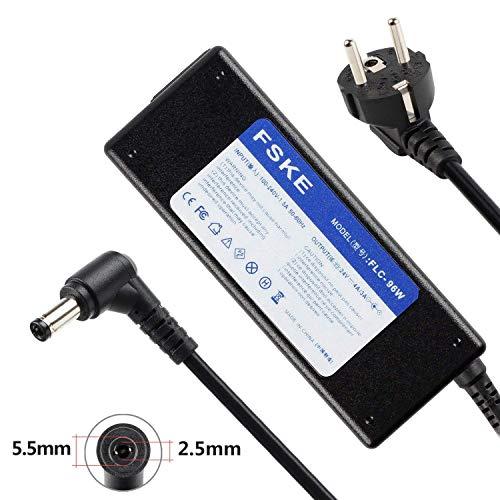 FSKE® Fuente de Alimentación AC Adaptador Cargador 24V 4A (Compatible con 24V 3A) Conector: 5.5 * 2.5mm