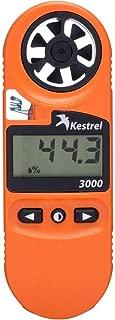 Kestrel 3000 Pocket Weather Meter / Heat Stress Monitor, Orange