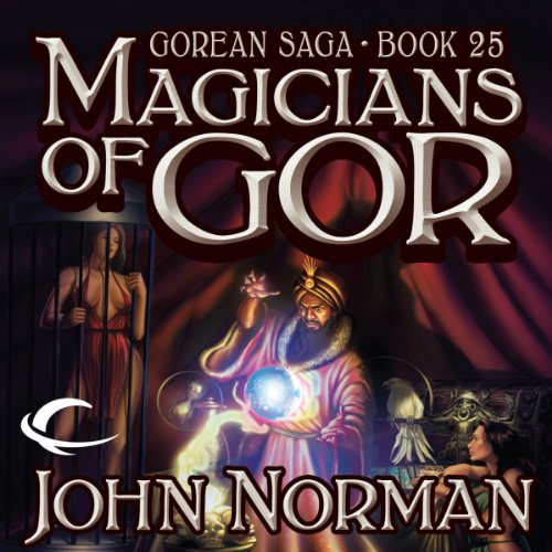 Magicians of Gor audiobook cover art