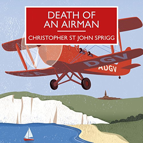 Death of an Airman audiobook cover art