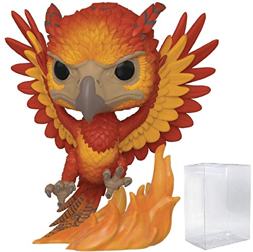 Funko Pop Harry Potter - Fawkes Vinyl Figure (Includes Compatible Pop Box Protector Case) image