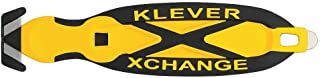 Klever Kutter Xchange Cutter, Box, Safety, Yellow, 12 Piece