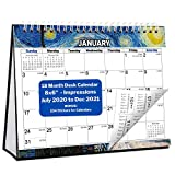 Small Desk Calendar 2020-2021 ...