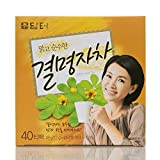 DAMTUH Korean Traditional Tea Cassia Seed Tea, 100% Pure Premium Korean Herb Kyulmyungja Gyeolmyeongja Loose Tea
