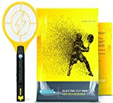 Electric Fly Swatter, Mini Bug Zapper Rechargeable for Mosquito, Flies Killer for Pest Control Indoor and Outdoor, 3800...