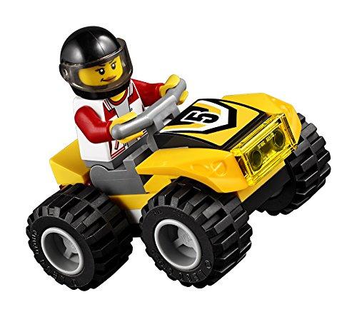Super Équipe de Course Tout-Terrains Camion Pickup LEGO City - 60148 - 239 Pièces - 5