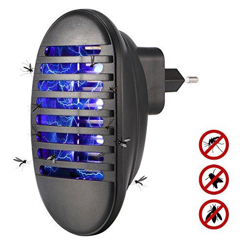 Greenbang NEU 2018 LED-Moskito-Mörder-Lampe - Antiwespen-Schädlings-Insekt-Fliegen-Zapper-Inhalator-elektrische Falle-Licht EU-Stecker 110V-240V, ungiftig Umweltfreundlich, Menschen u