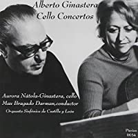 Cello Concerto No 1 Op 36 No 2 Op 50 by ALBERTO GINASTERA (2009-03-10)