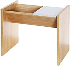 Sofa Side End Table, Coffee Table Small End Table Wooden Side Table Dual-Use Sofa Corner Table Modern Bedside Table for Li...