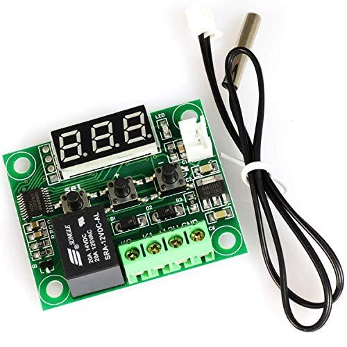Manyao XH-1209 pantalla digital termostato módulo de alta precisión de control de temperatura del controlador de temperatura de conexión Micro tarjeta de control de la temperatura del punto Steuermodu