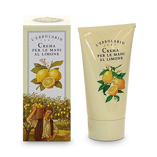 L'Erbolario Creme für Hände mit Zitrone, 1er Pack (1 x 75 ml)