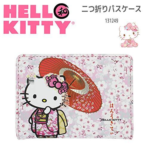 Sanrio Hello Kitty - Tarjetero, diseño de Kimono japonés y Sakura 01