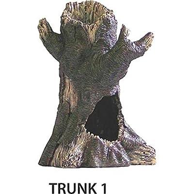 SPORN Aquarium Decoration, Tree Trunk with Hole