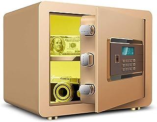 Safes for Home Sentry Safe Electronic Security Safe 20mm Locking Bolt LCD Screen 38 * 30 * 30cm - Gold Safebox