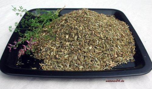 Naturix24 – Erdrauch, Erdrauchkraut geschnitten – 100g Beutel