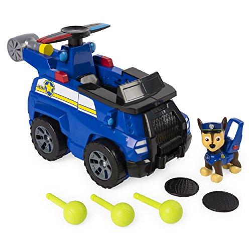Spin Master Paw Patrol Flip and Fly Vehicle Chase vehículo de Juguete - Vehículos de Juguete, Camión, 3 año(s), Niño/niña, 600 g, 700 g