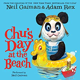 Chu's Day at the Beach audiobook cover art