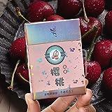 Green Tea Herbal Cigarettes Menthol Fruit Tea Smoke, Black Tea Jasmine Tea Chinese Herbal Cigarettes Tobacco-Free Nicotine-Free, Cigarette Substitutes (Cherry, 1 Pack)