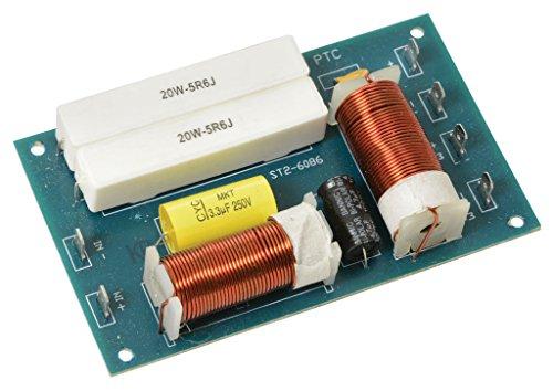 Crossover a 2 vie 12 dB, 8 Ohm, 200 W, 3 kHz.